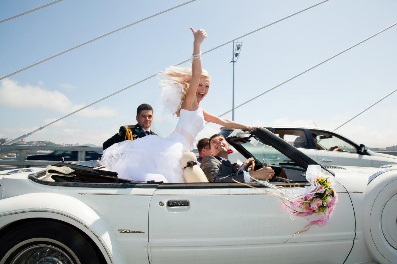 Свадебная фотосессия с авто