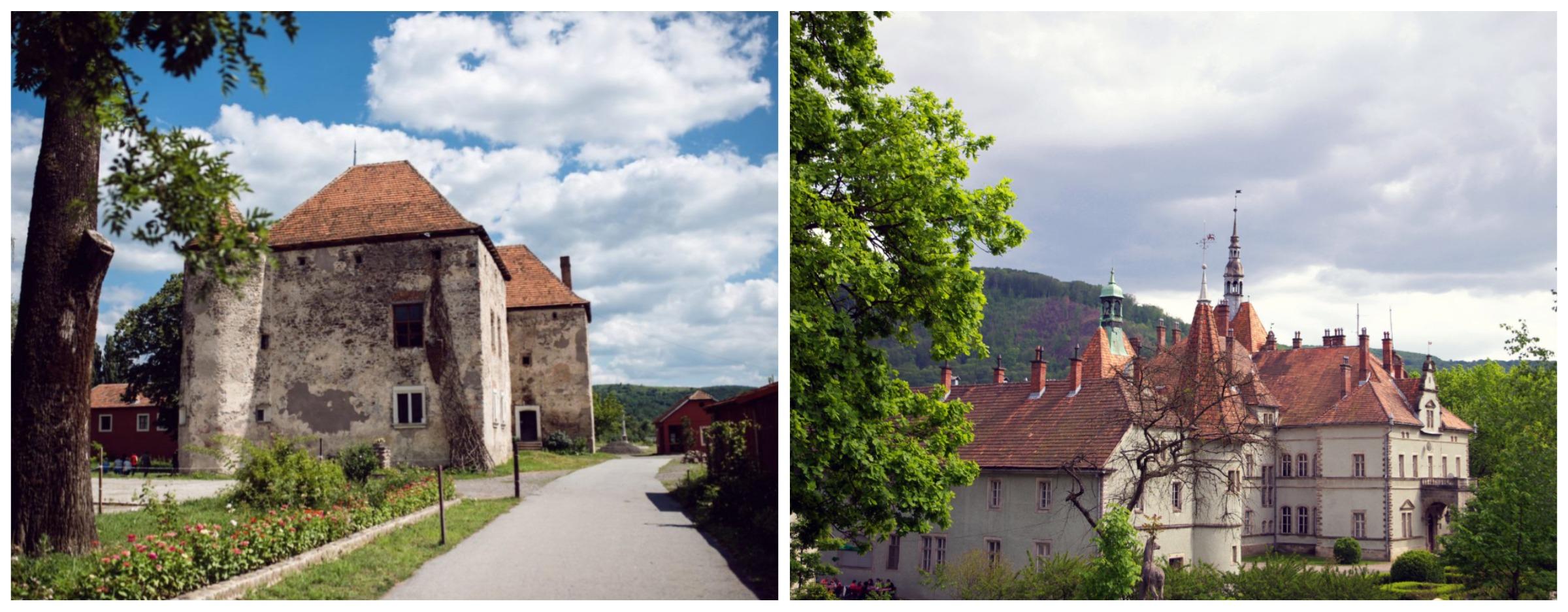 замок Сент-Міклош, замок графів Шенборнів