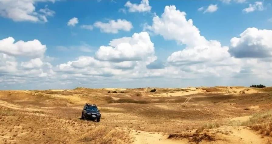 Эко-стежки в Олешківских пісках