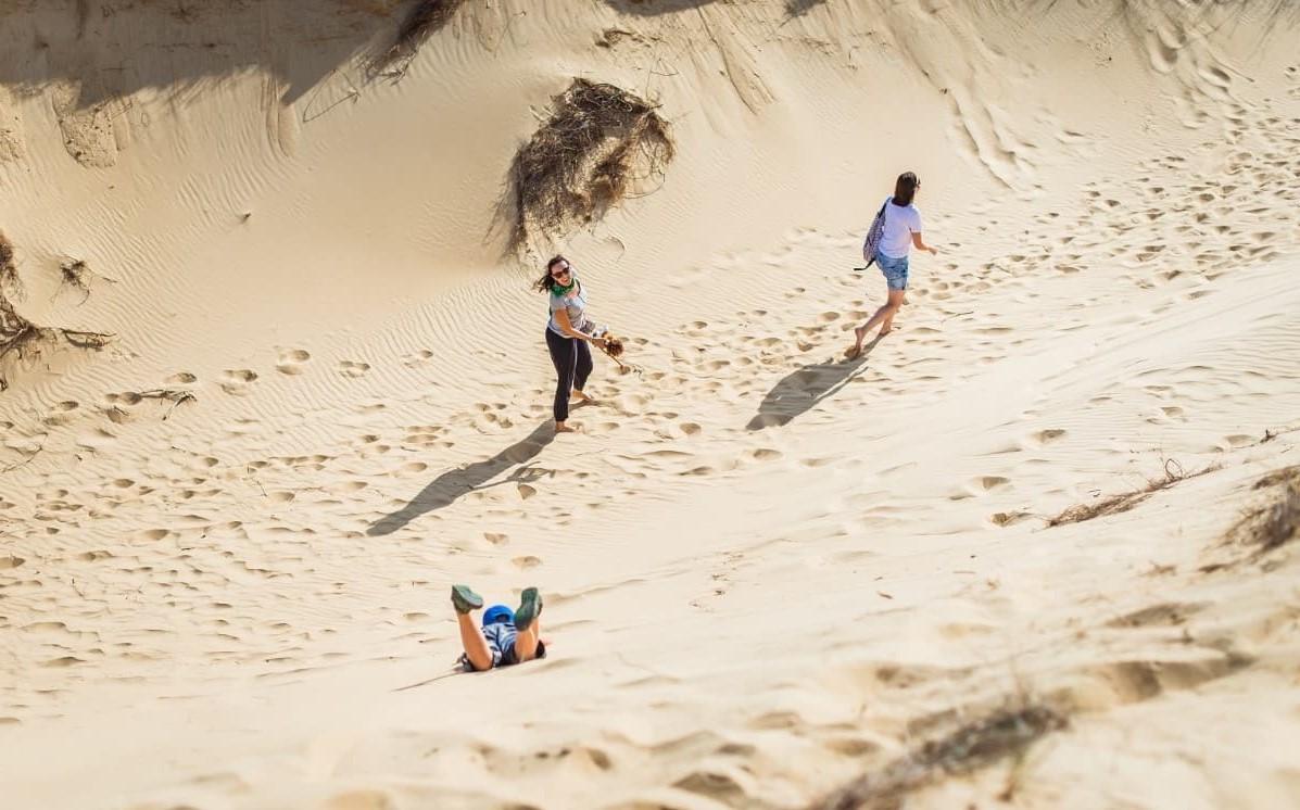 подорожувати Олешківськими пісками